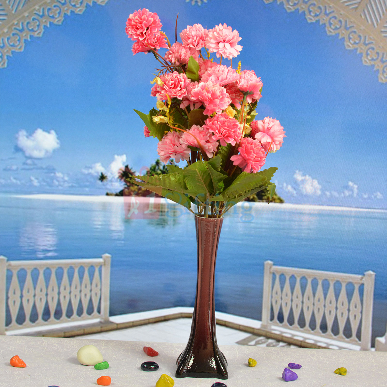 Unmatched Flower Pot with Beautiful Flowers