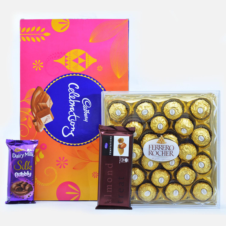 Flavorsome Funda - Pack of 4 Chocolates
