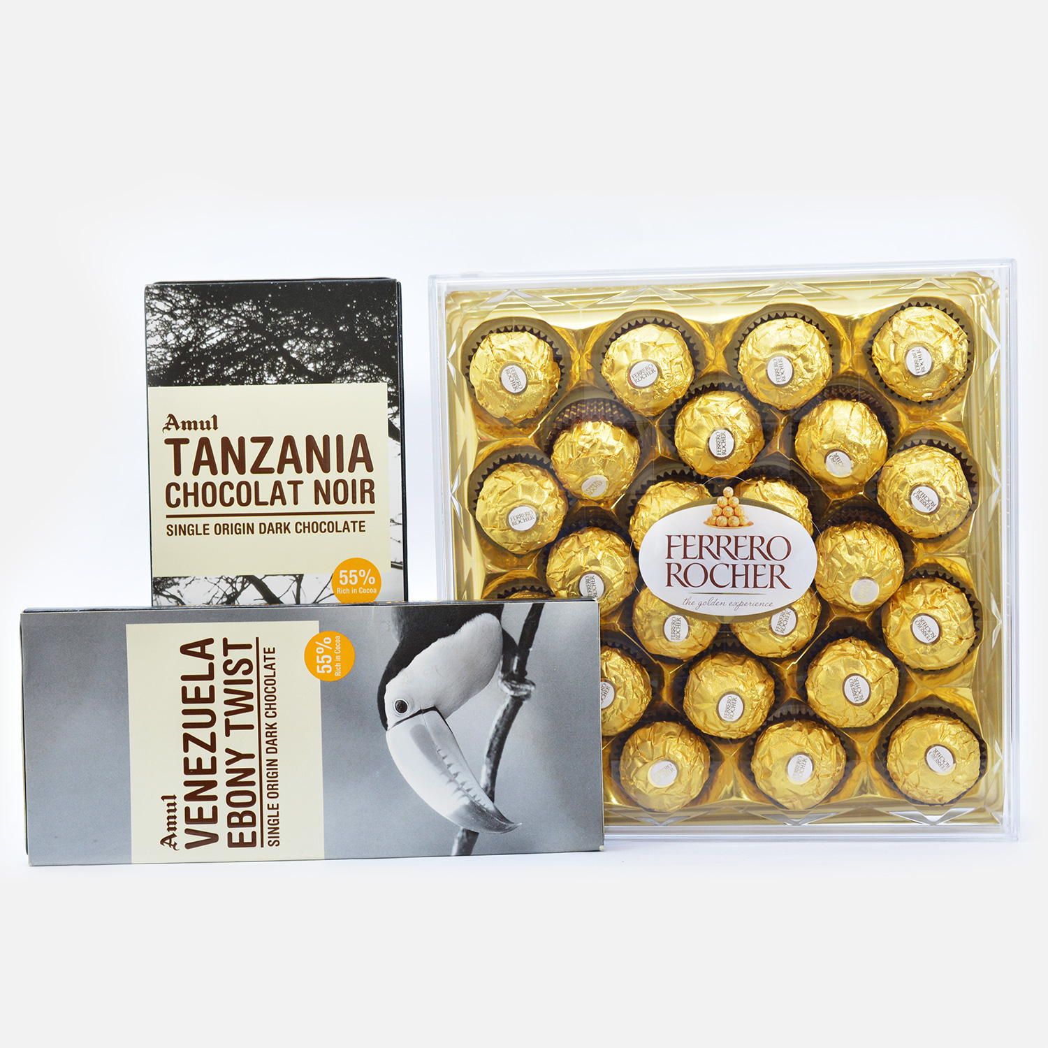 3 Imported Chocolates Combo for a festive treat