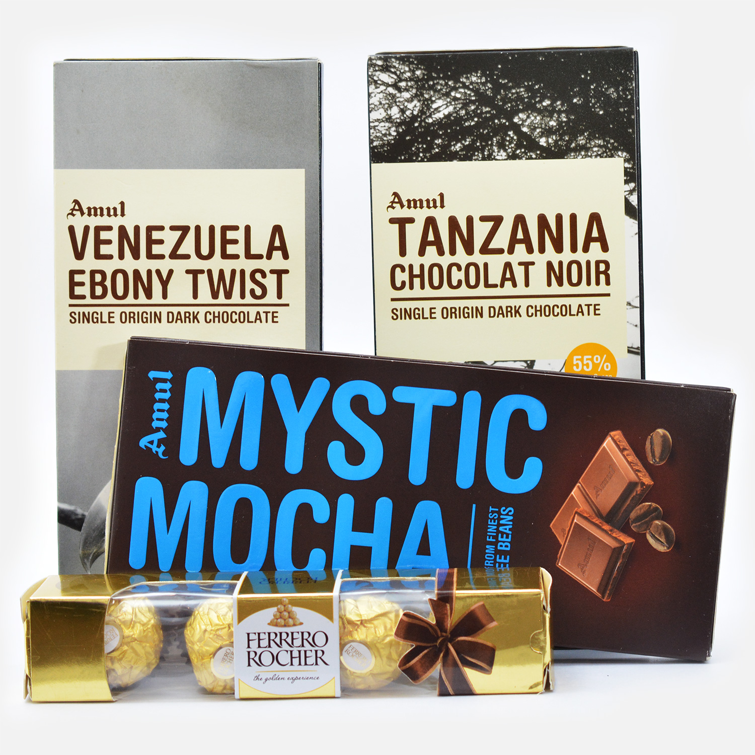 Four types of Chocolate Combo for Gift