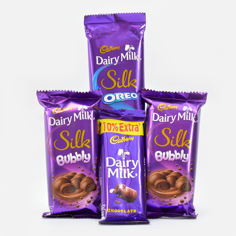 Rich Cadbury Dairy Milk Combo