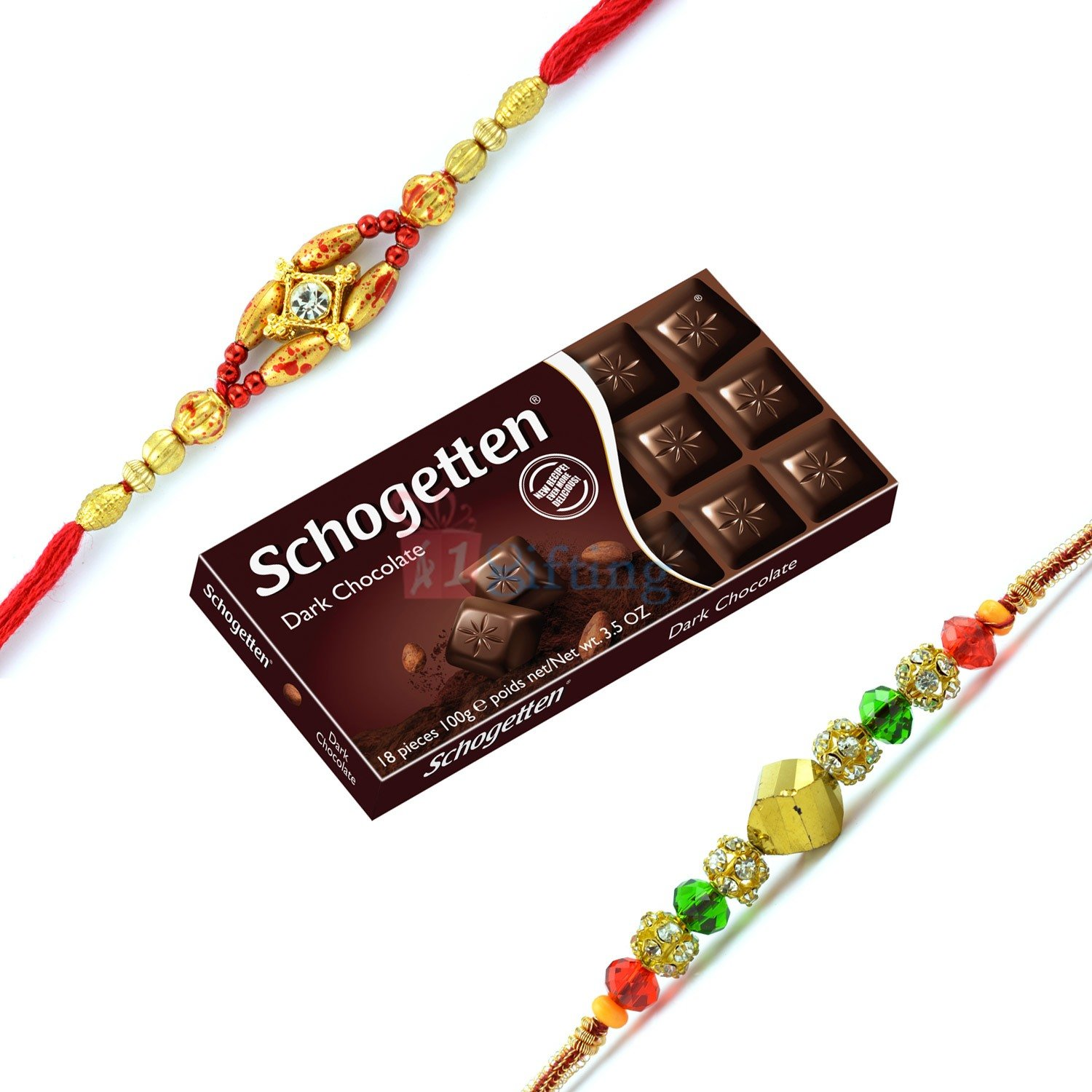 Twice Rakhi Set with Chocolate
