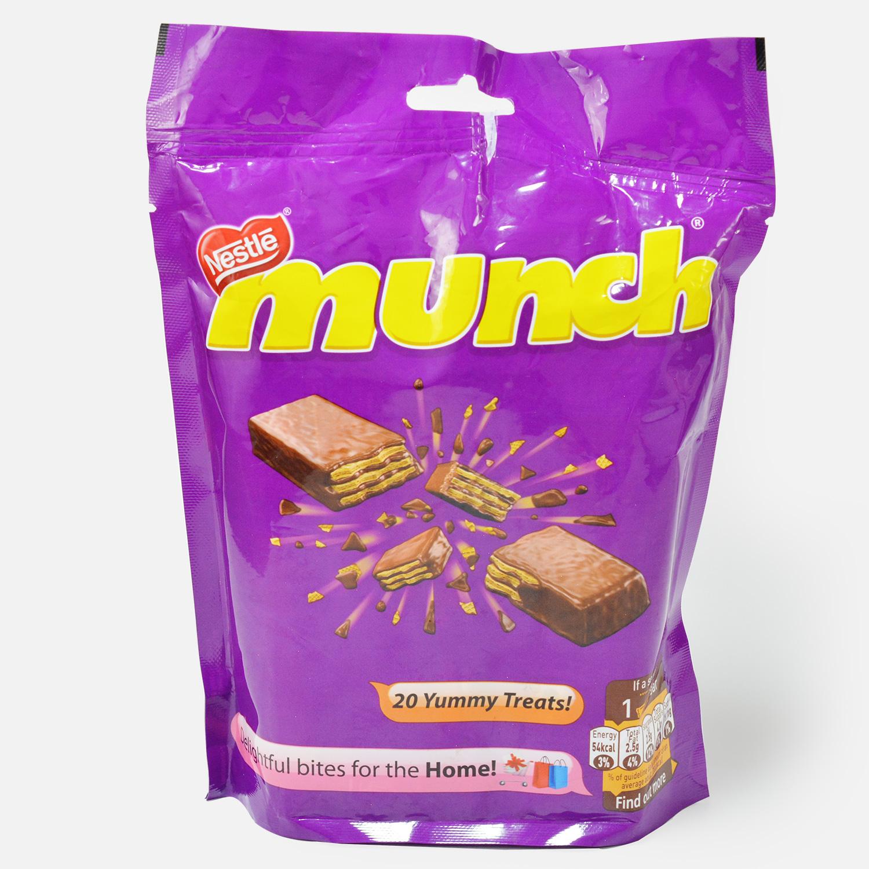Nestle Munch 20 Yummy Treats Chocolate