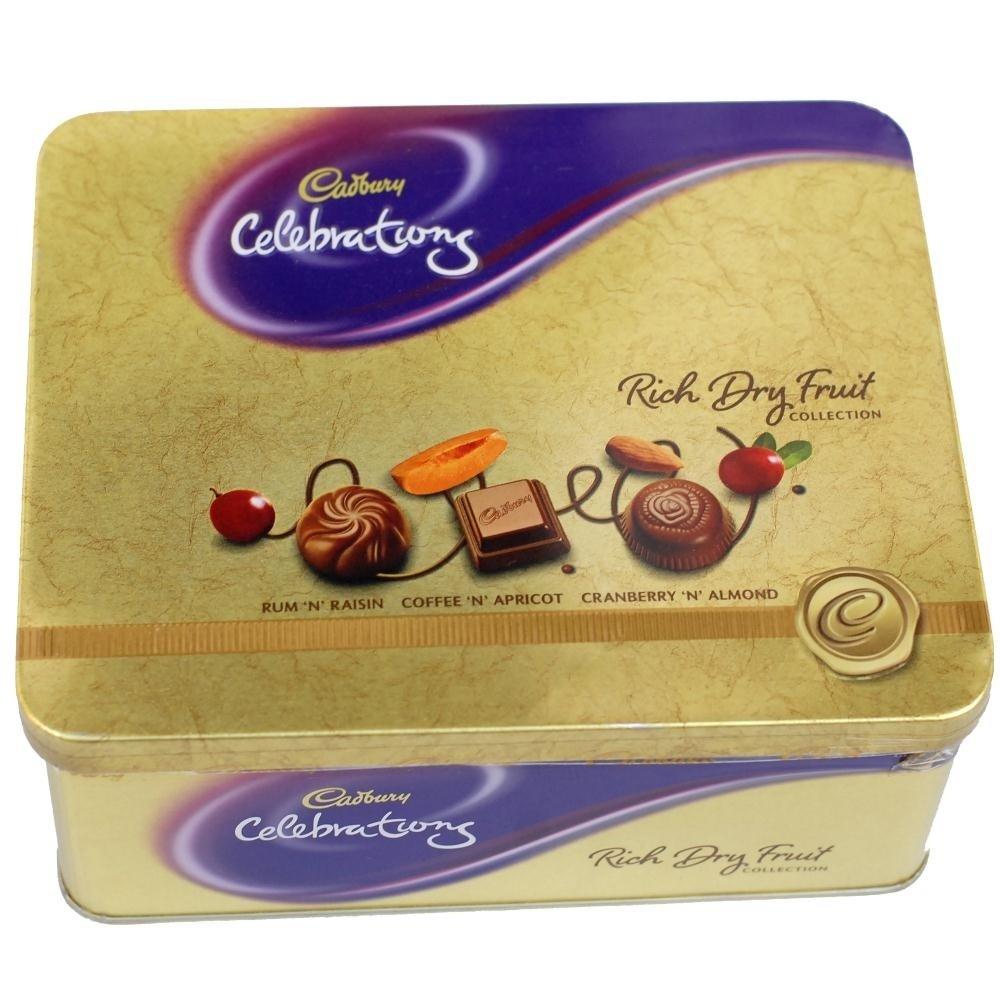 Rich Dryfruit Chocolates-Tin