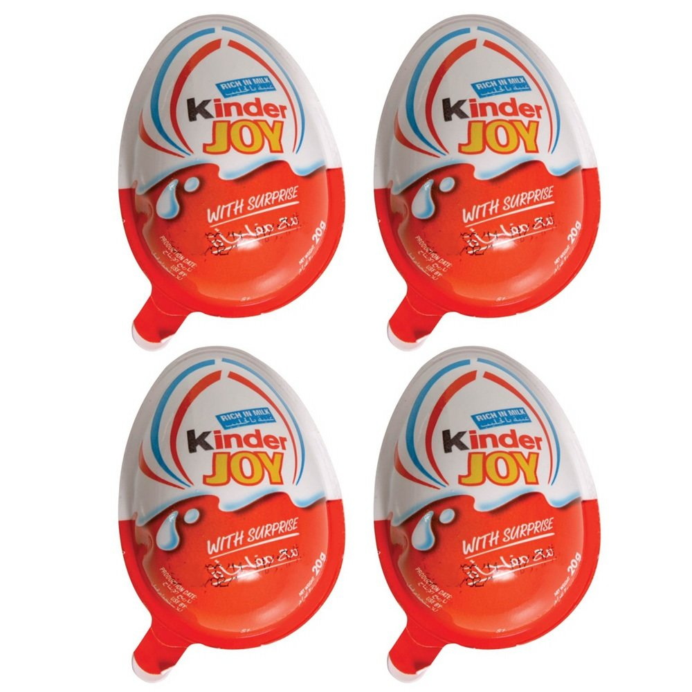 Kinder Joy Chocolate Pack of 4