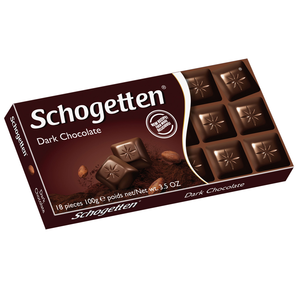 Schogetten Dark Chocolate 18 Pcs