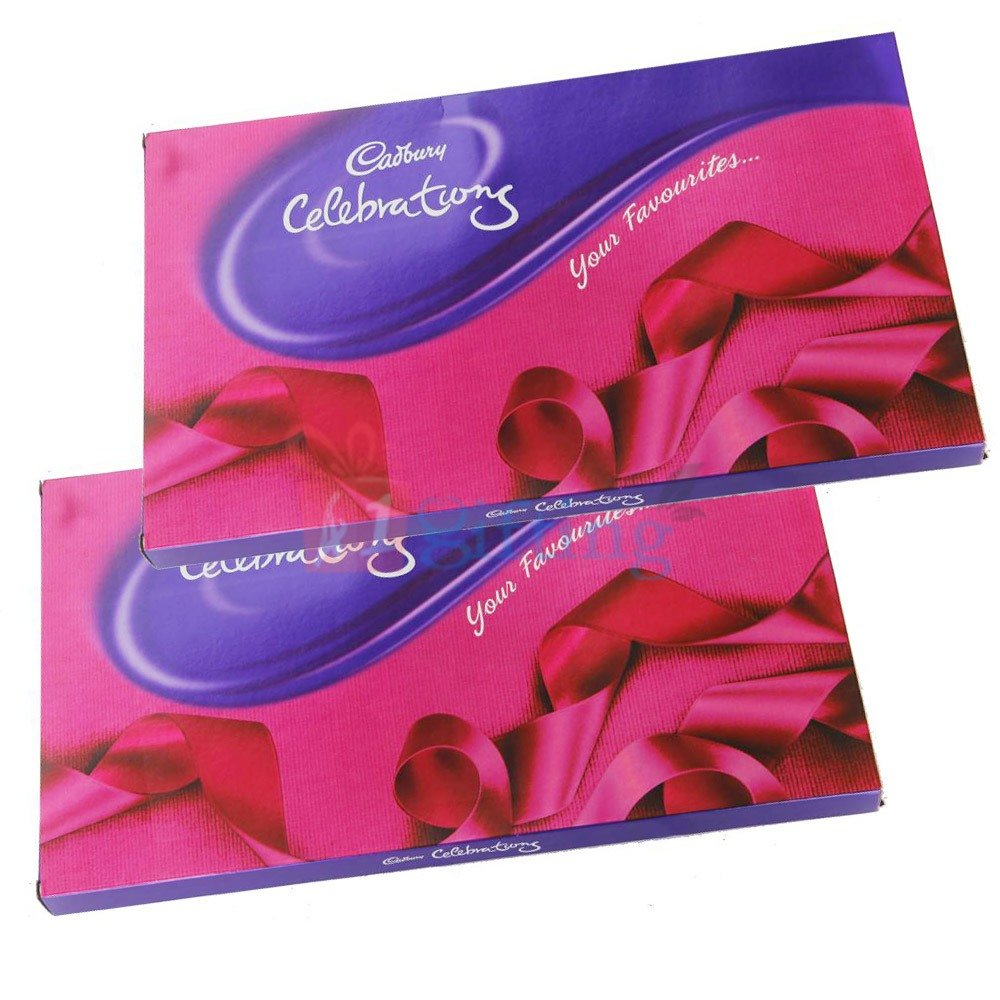 Cadbury Celebration Chocolate Pack of 2 Big Celebrations