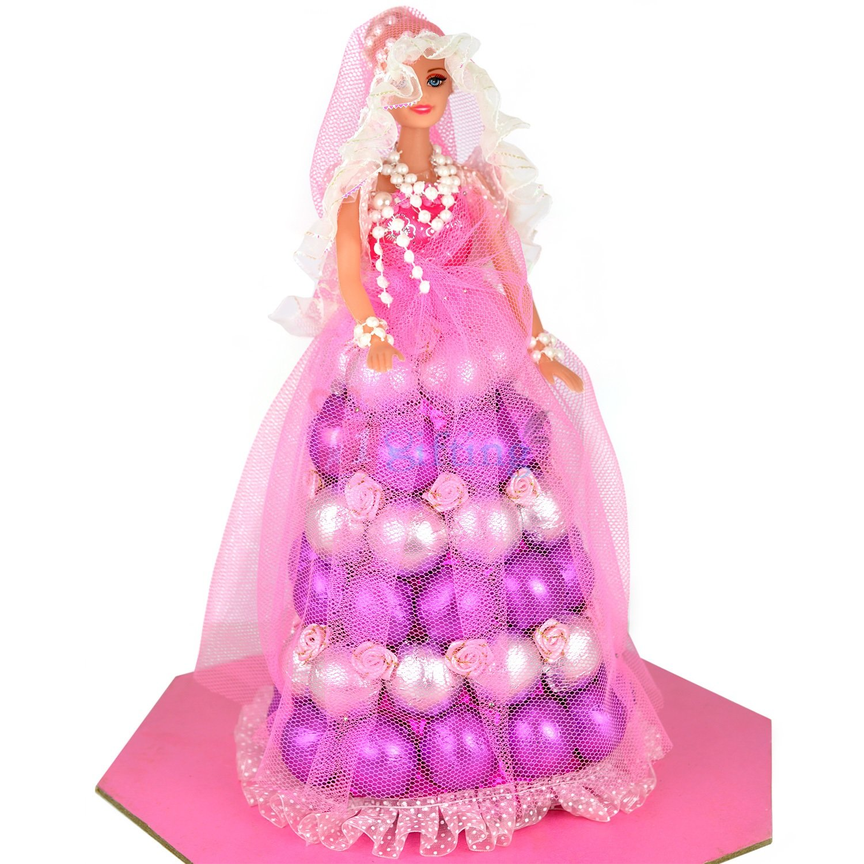 Purple Barbie Doll Chocolate to Gift