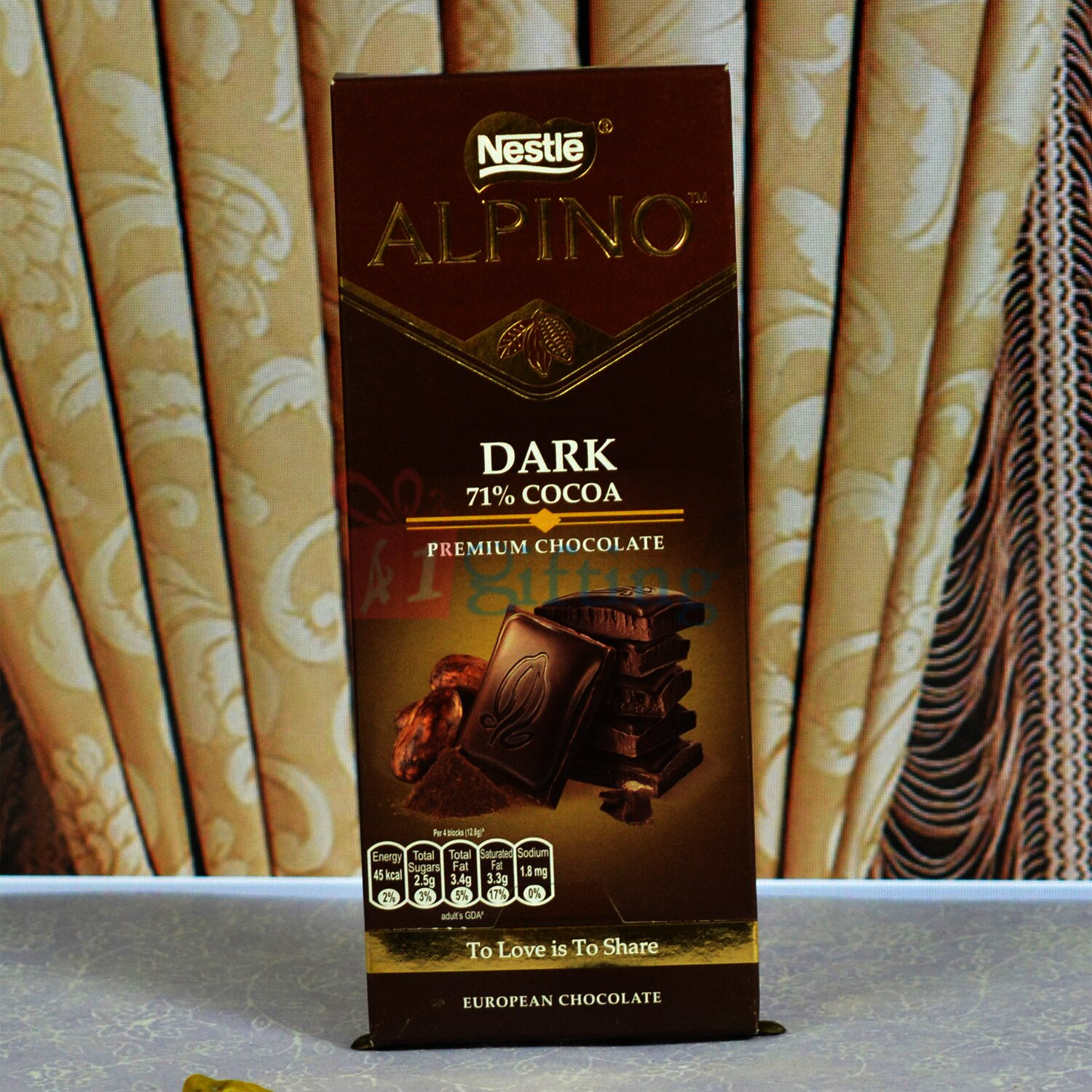 Nestle Alpino Dark Premium Chocolate