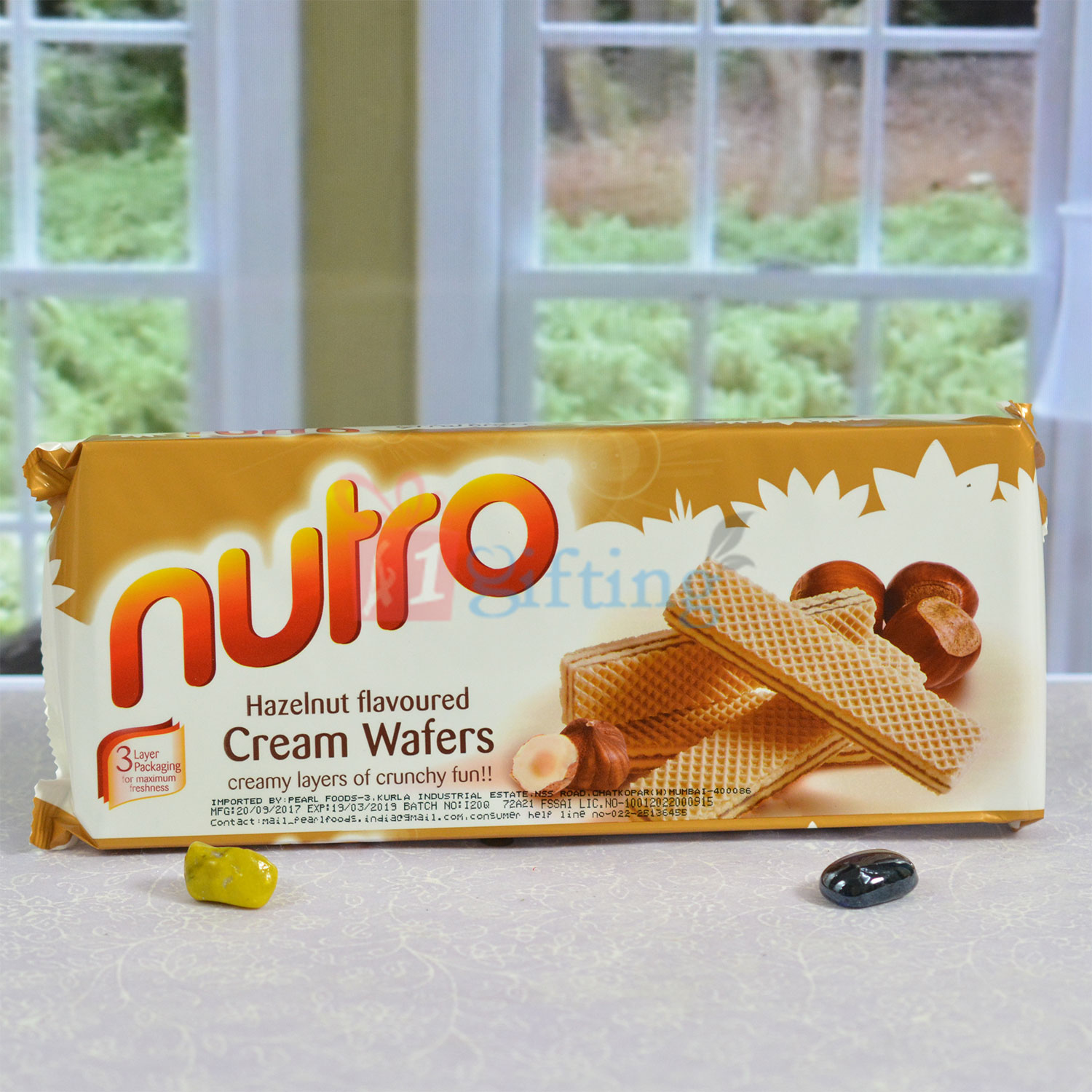 Nutro Cream Wafers Hazelnut Flavoured