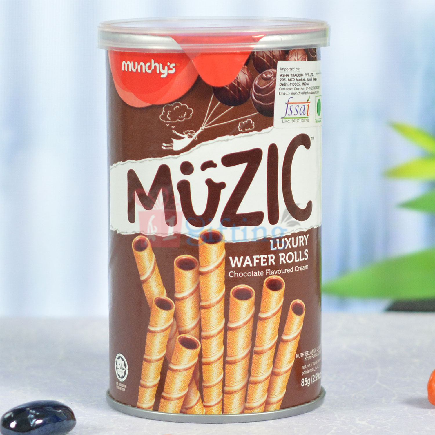 Munchys Muzic Luxury Wafer Rolls