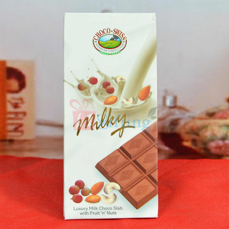 Choco Swiss Milky Luxury Milk Choco Slab