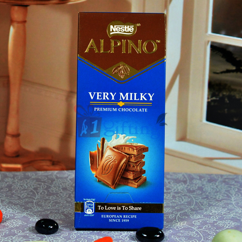 Nestle Alpino Very Milky Premium Chocolate