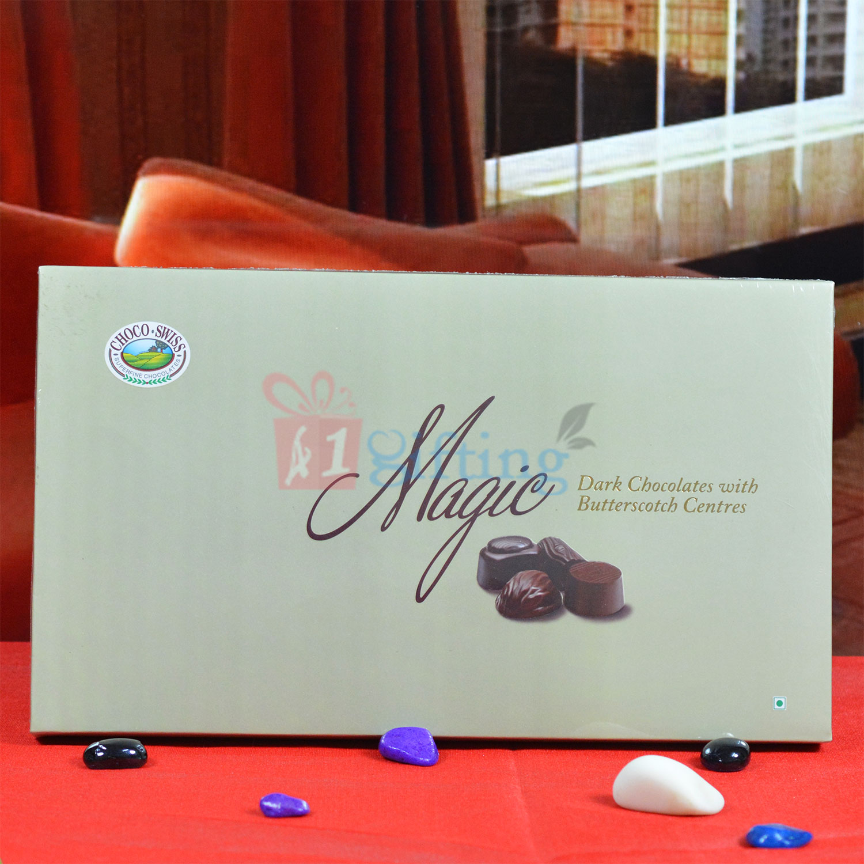 Choco Swiss Magic Dark Chocolates with Butterscotch