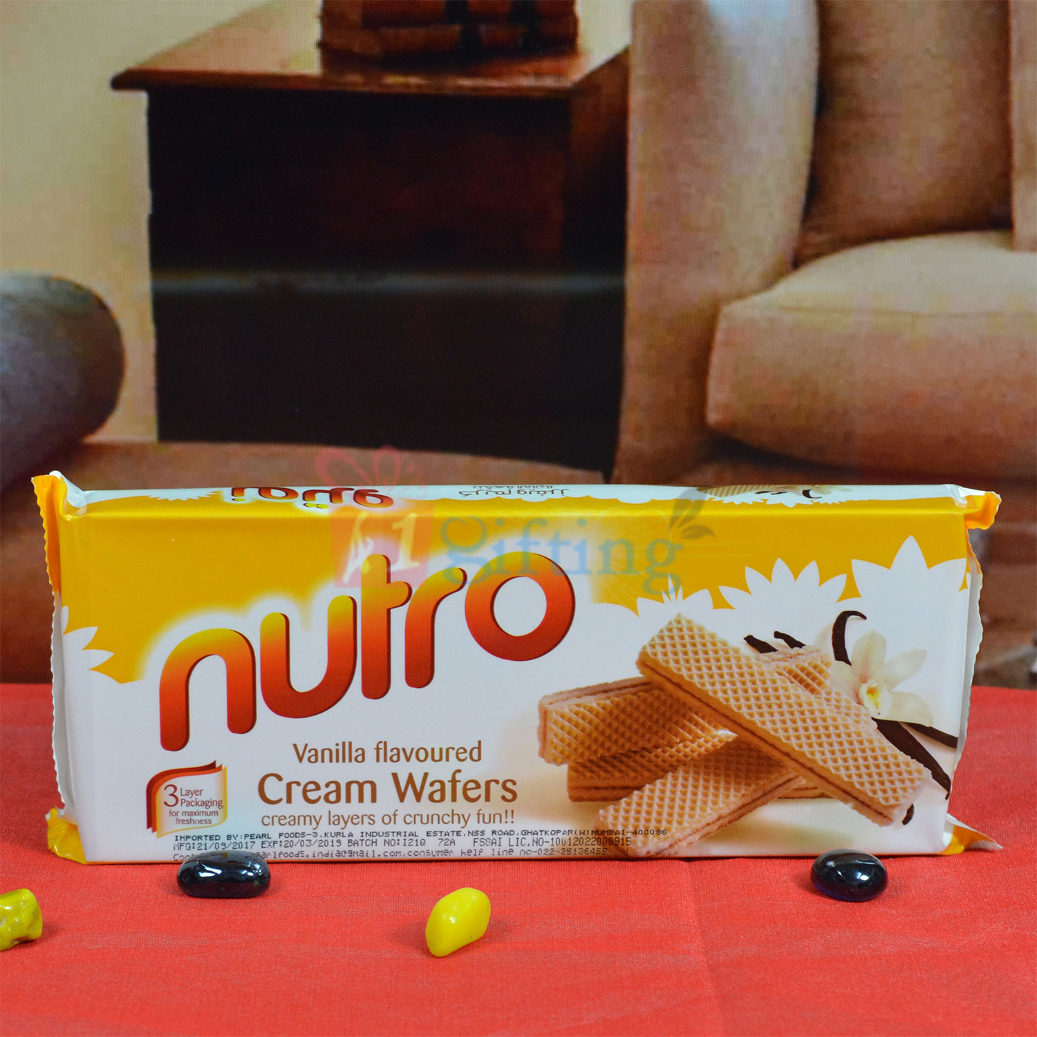 Nutro Cream Wafers Vanilla Flovoured
