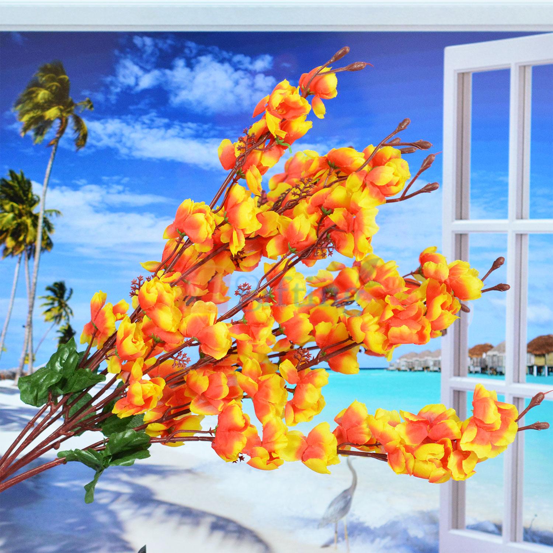 Amazing Orange Small Artificial Flower Bouquet