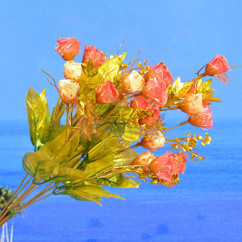 Golden Touch Artificial Flower Bouquet for Pot