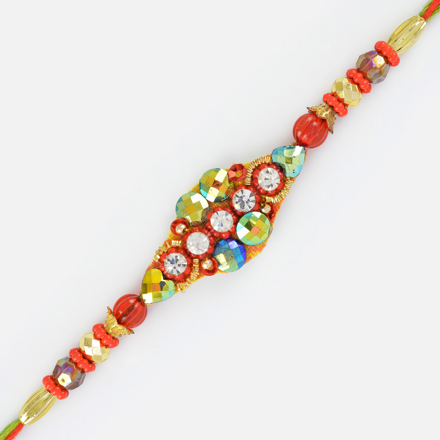 Colors of Rakhi- A Fanciful Designed Colorful Rakhi for Brother