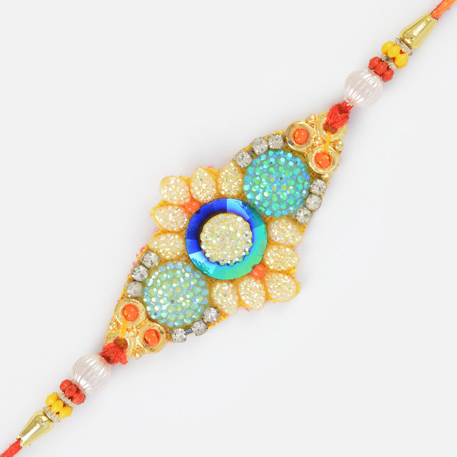 Colorful Fancy Designer Rakhi for Brother