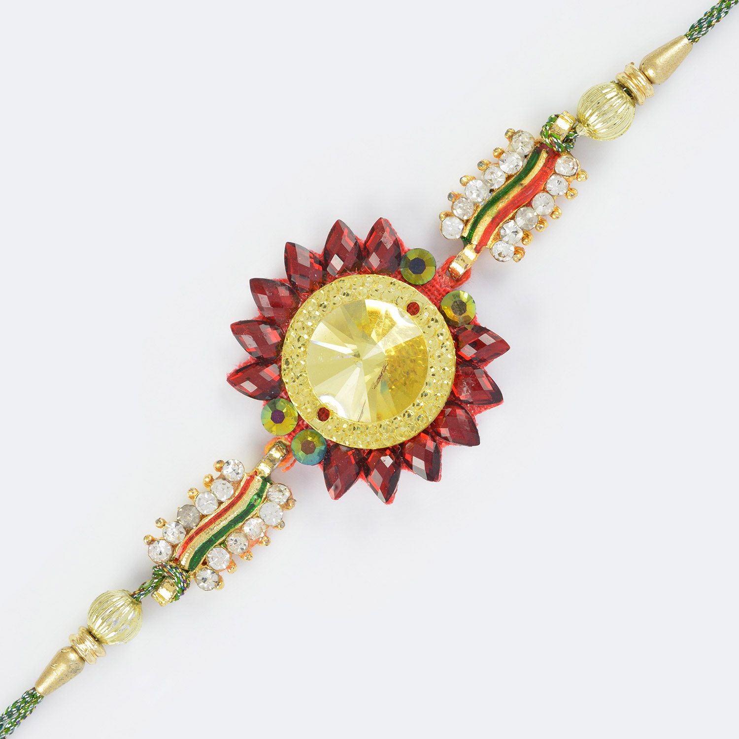 Traditional Designer Handcrafted Fancy Looking Rakhi for Brother