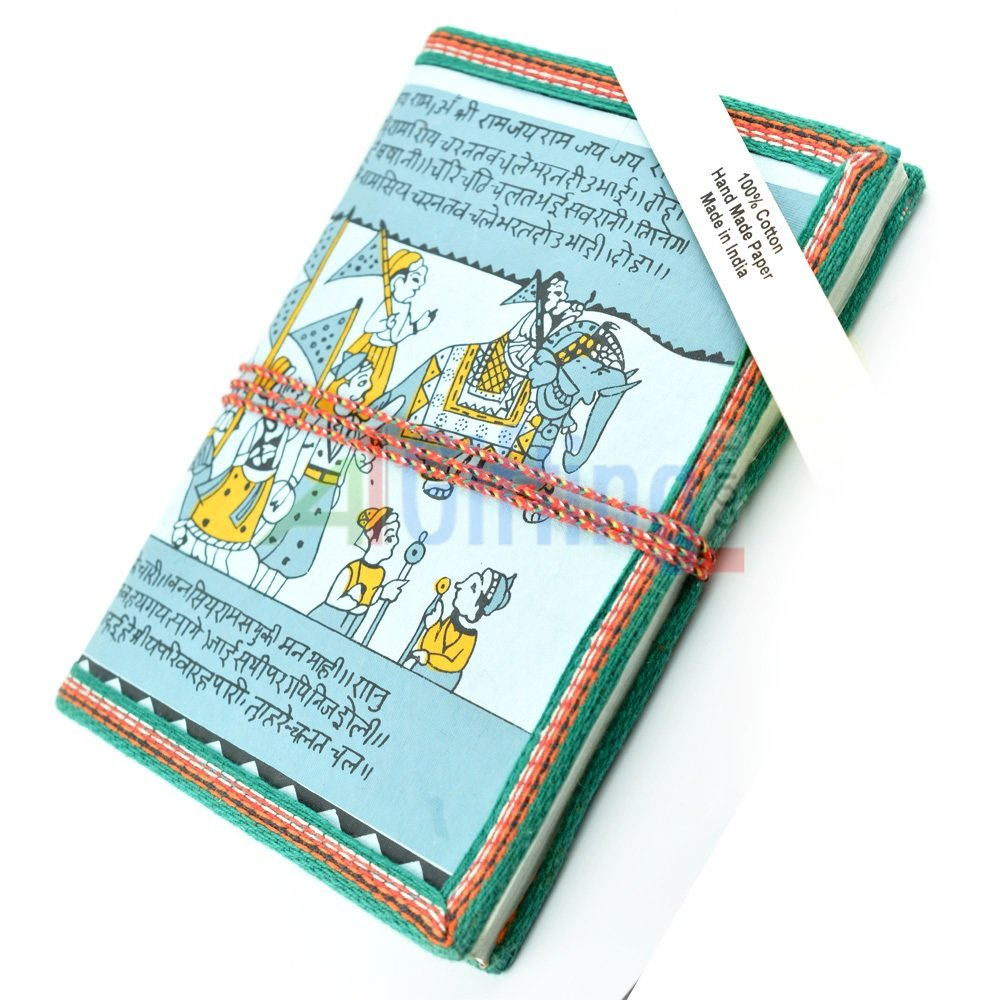 Handicraft Diary with Handmade Papers