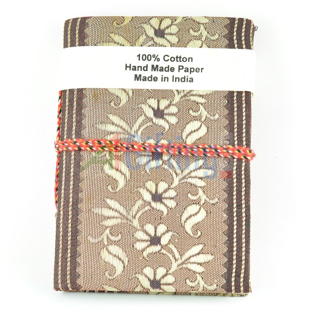 Barmeri Print Cotton Cover Handicraft Diary Handmade Papers