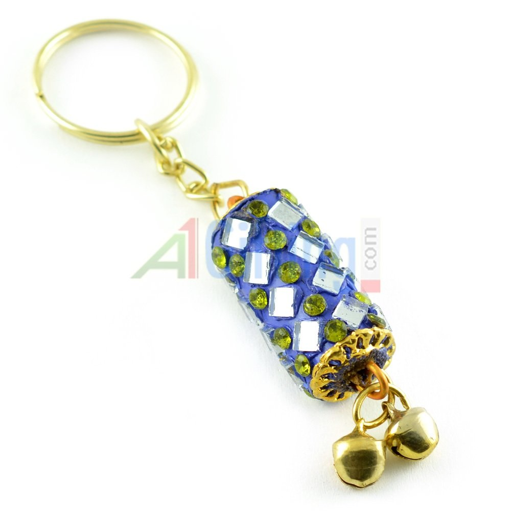 Lacquer Designer Hand crafted Key Chain