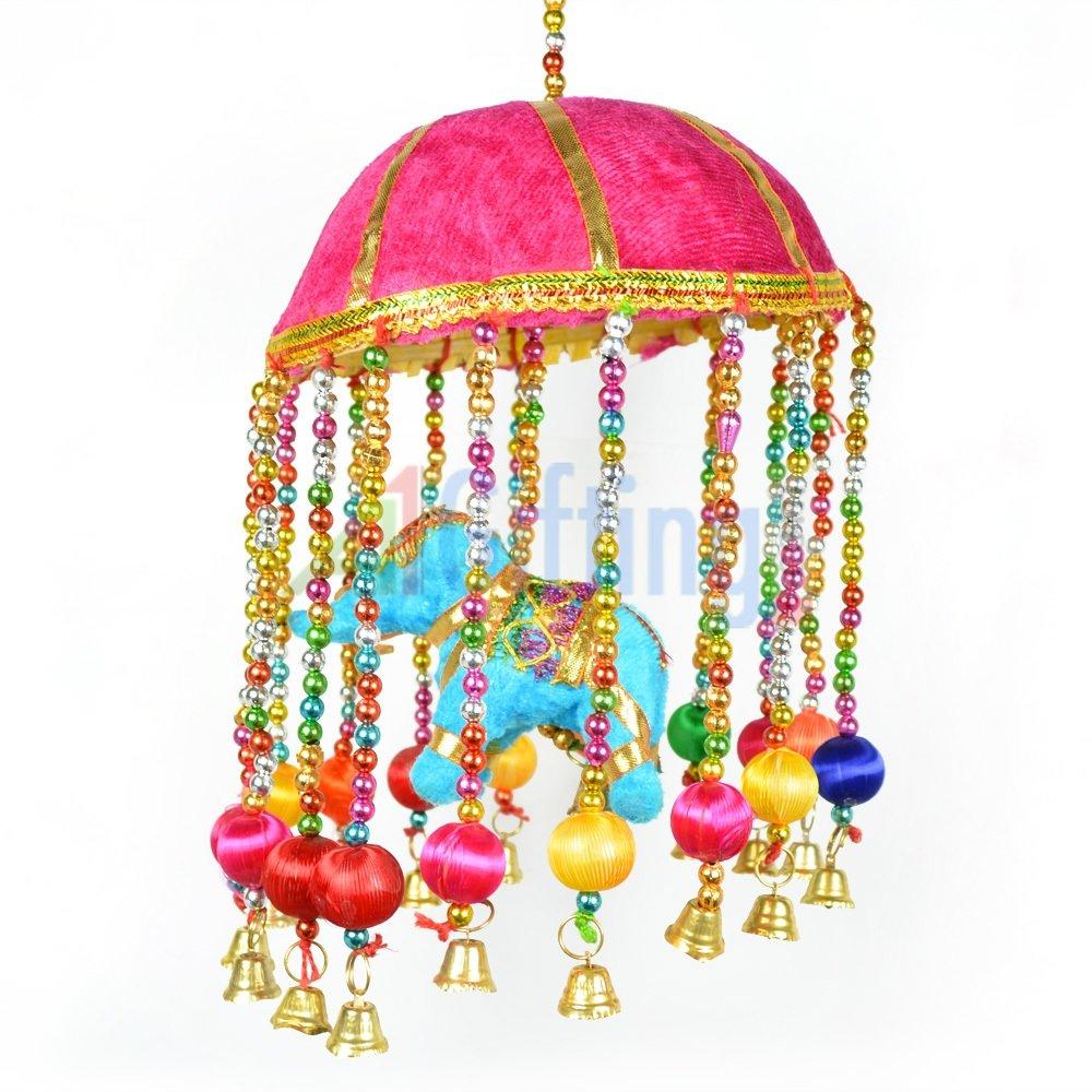 Marvellous Jhoomer Handcrafted Elephant among Balls