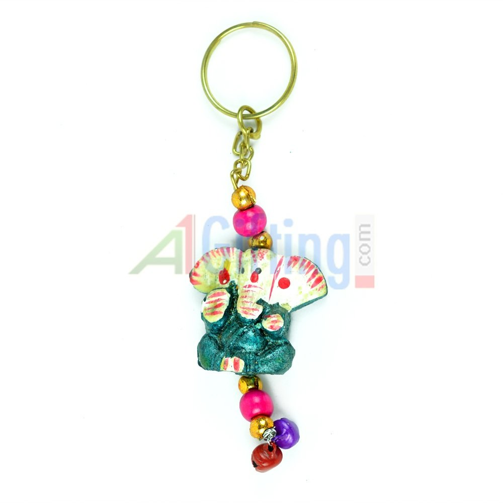 Handicraft Ganesha Key Chain