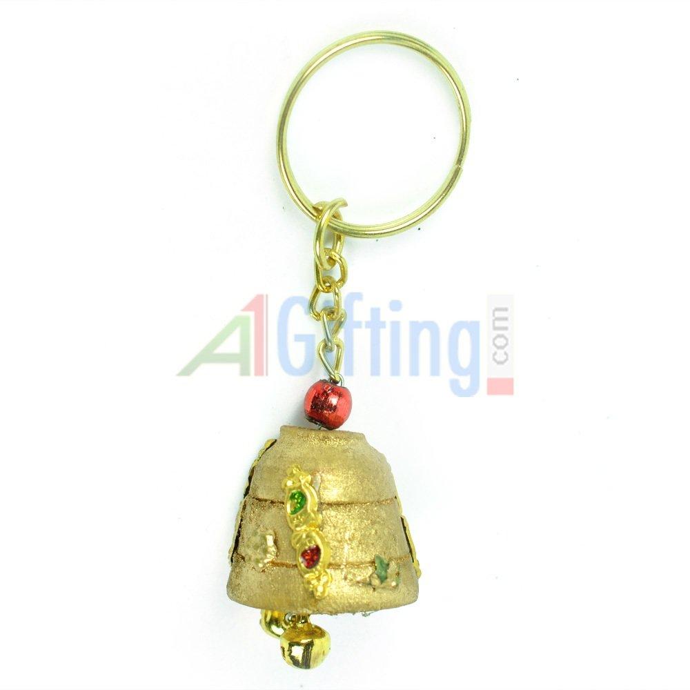 Bell Handicraft Key Chain