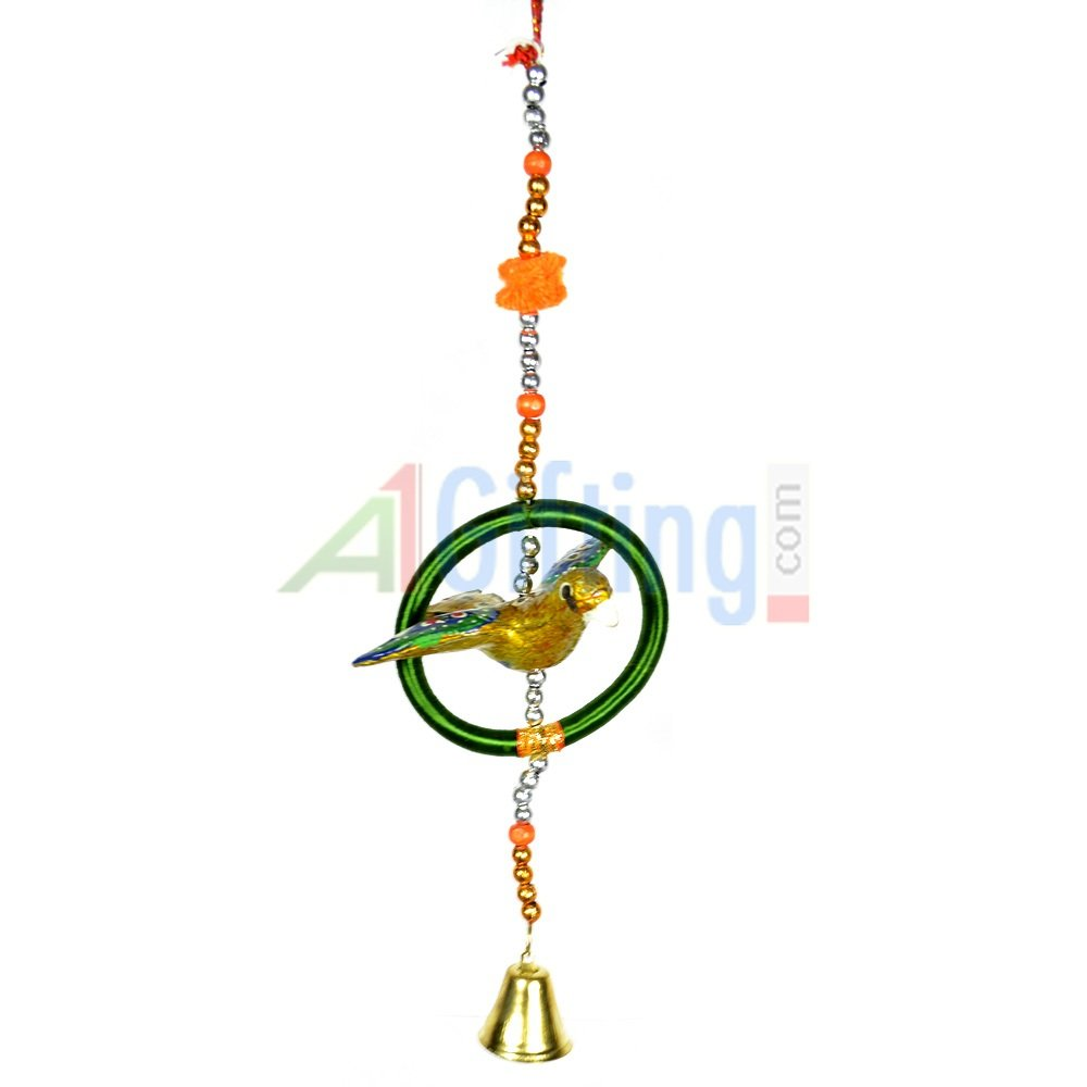 Birds Sitting in Ring Handcrafted Hanging