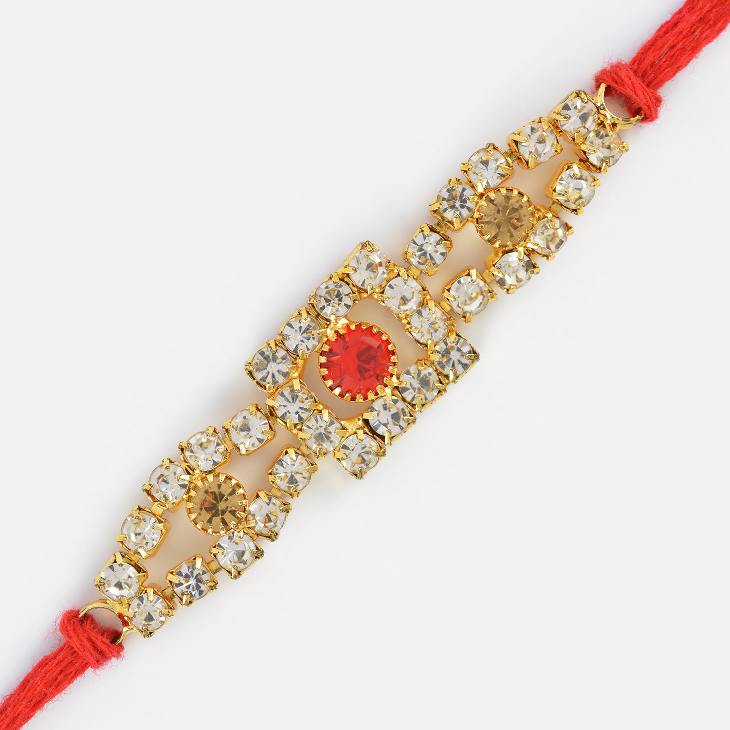 Excellent and Fancy Looking Jewel Rakhi