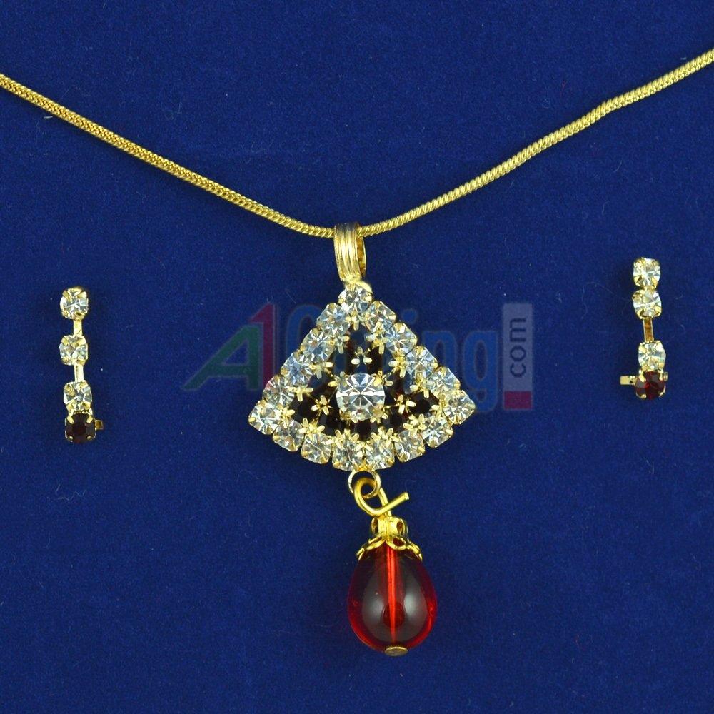 Beautiful Locket Set Jewelry with Earings