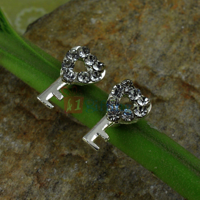 Key Shape Diamond Fancy Earrings