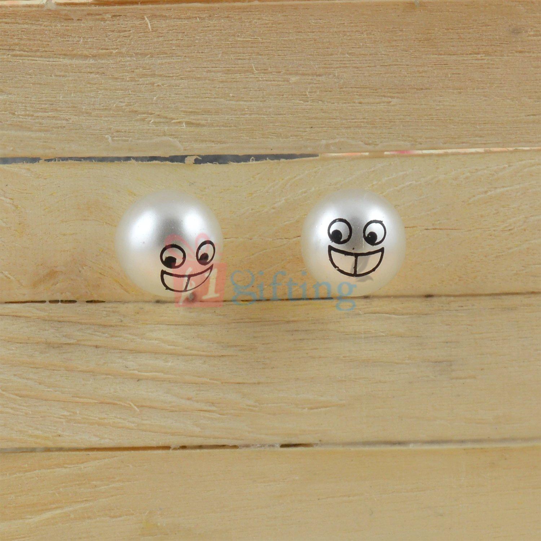 Pearl Smiley Fancy Earrings