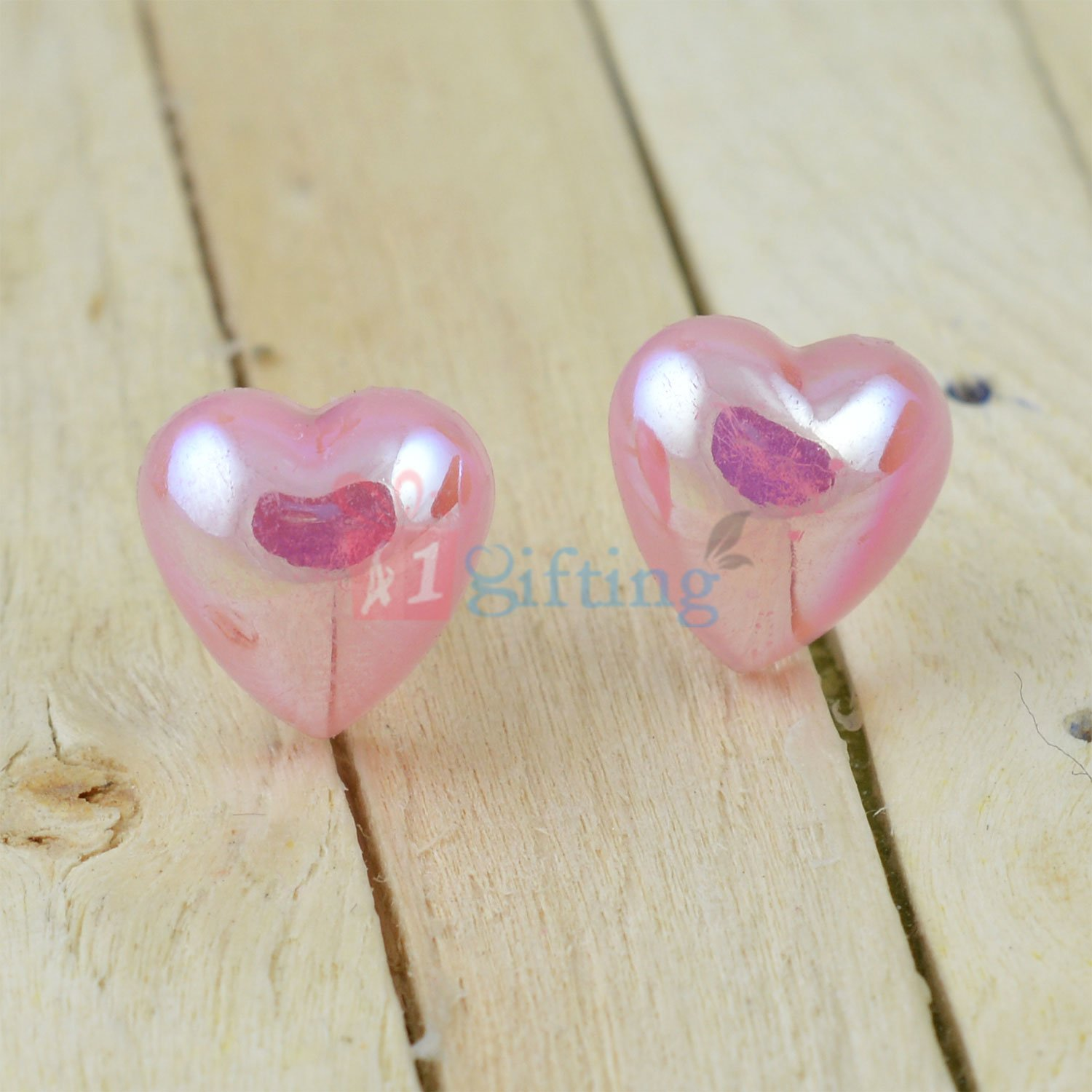 Awesome Heart Shape Loving Gift Earrings