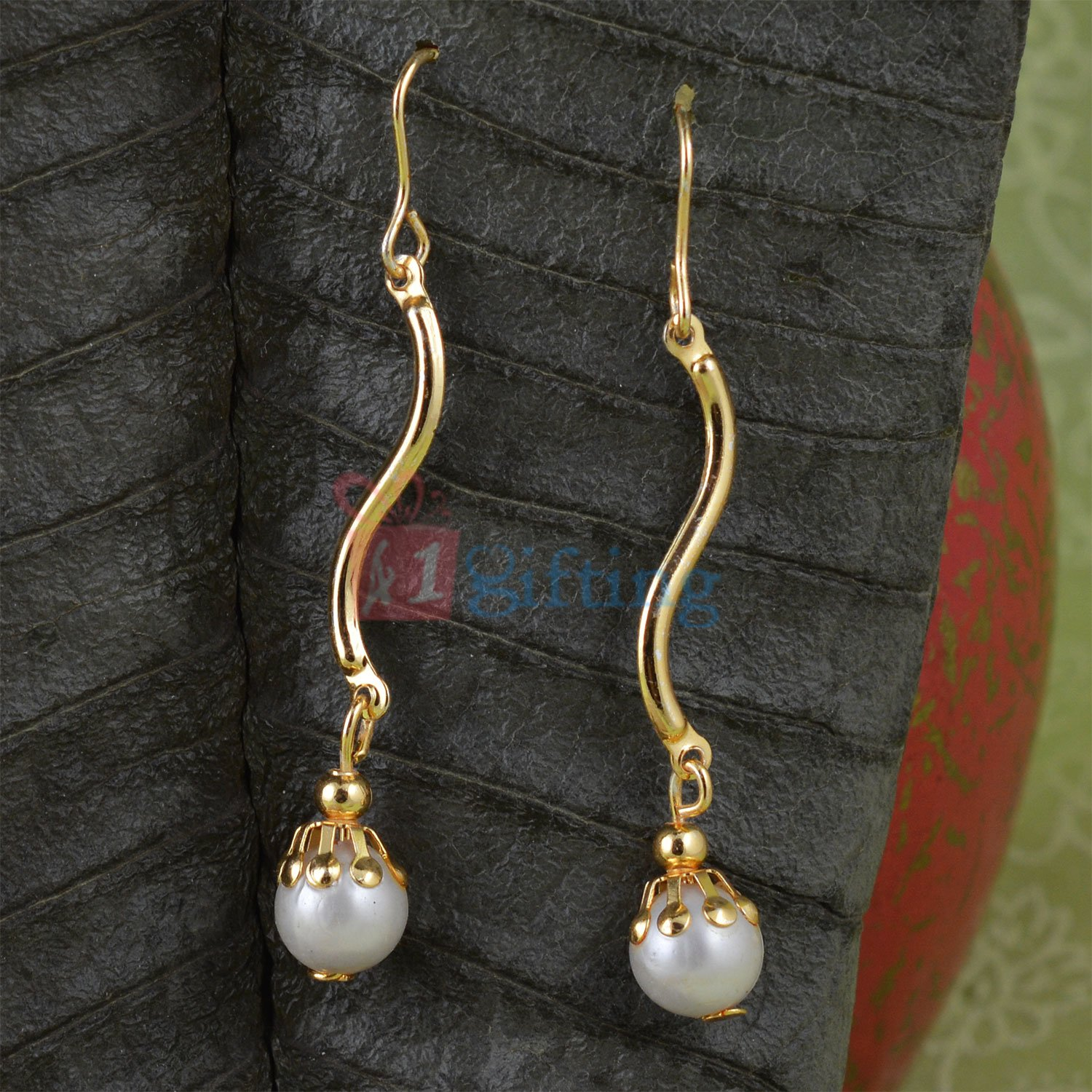 Long Pearl Simply Beautiful Sui Dhaga Earrings