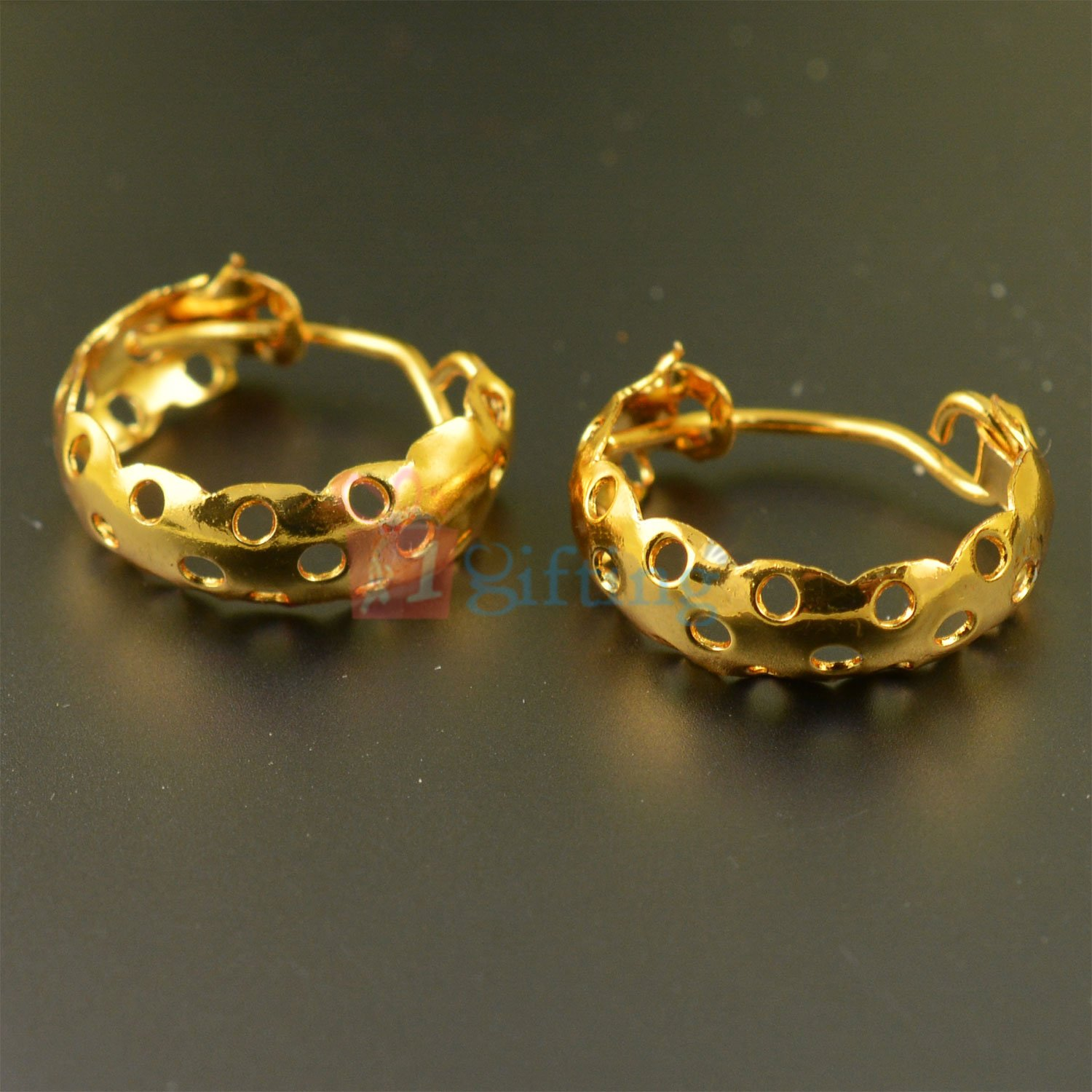 Simply Beautiful Golden Touch Fancy Earrings