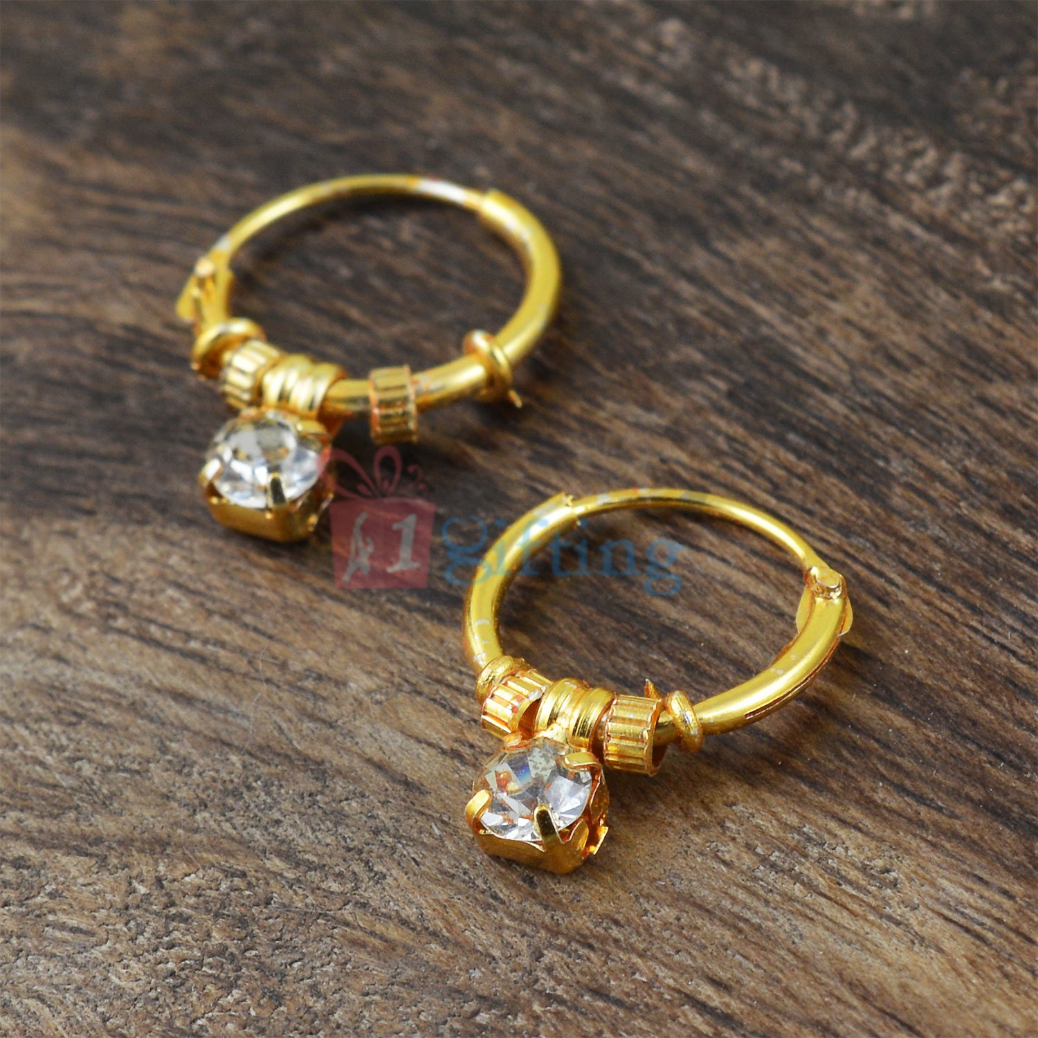 Beautiful Small Golden Touch Earrings