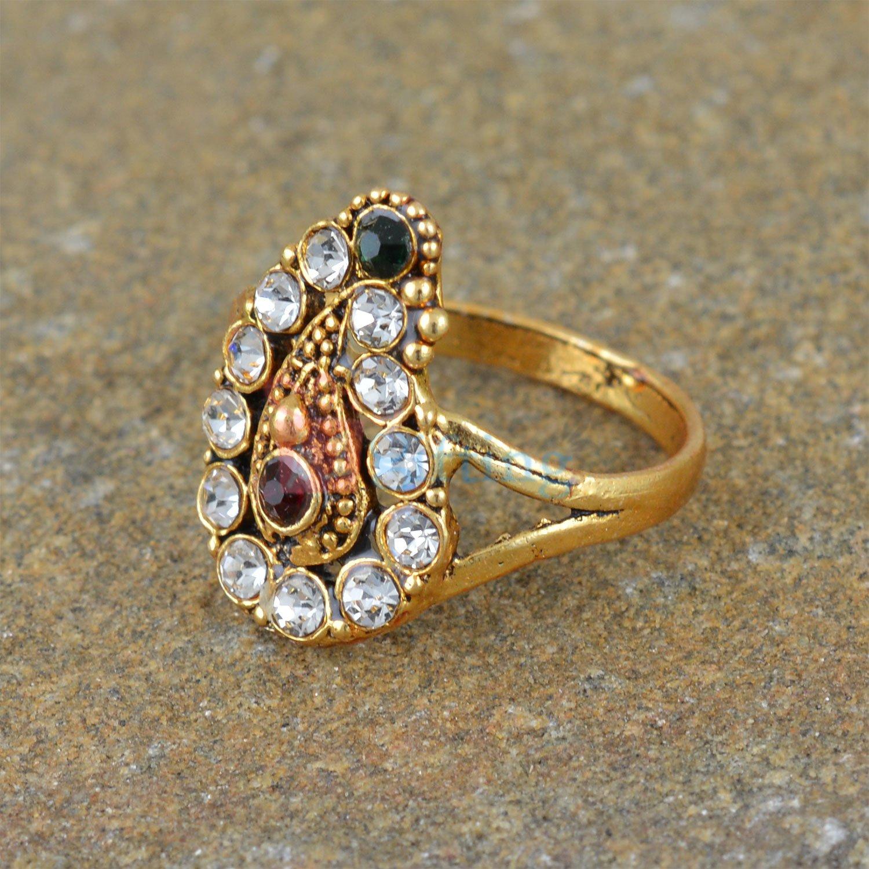 Leaf Style Diamond Fancy Ring