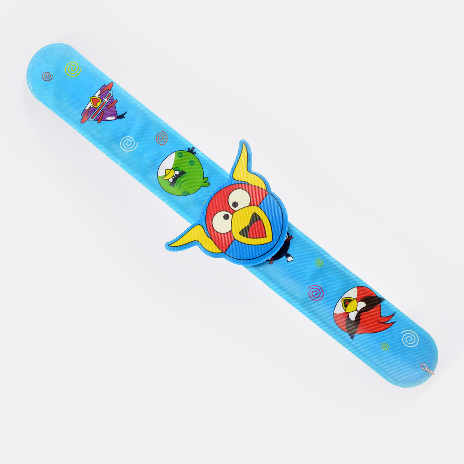 Blue and Red Color Angry Bird Hand Band Kids Rakhi