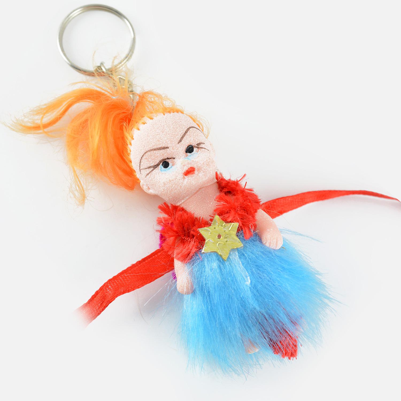 Barbie Doll Key Chain Rakhi for Babies