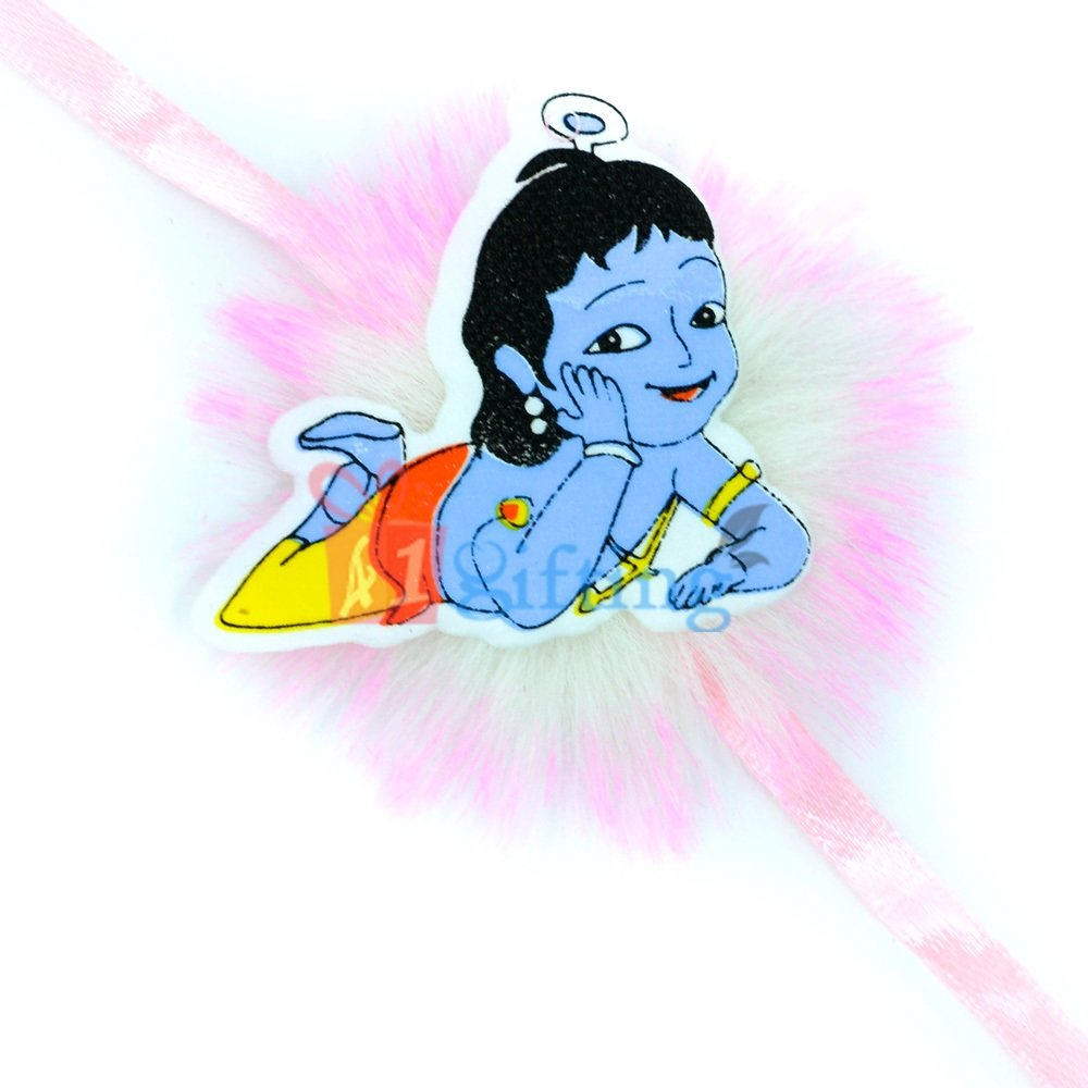 Little Krishna TV Serial Designer Kids Rakhi as Wrist Band