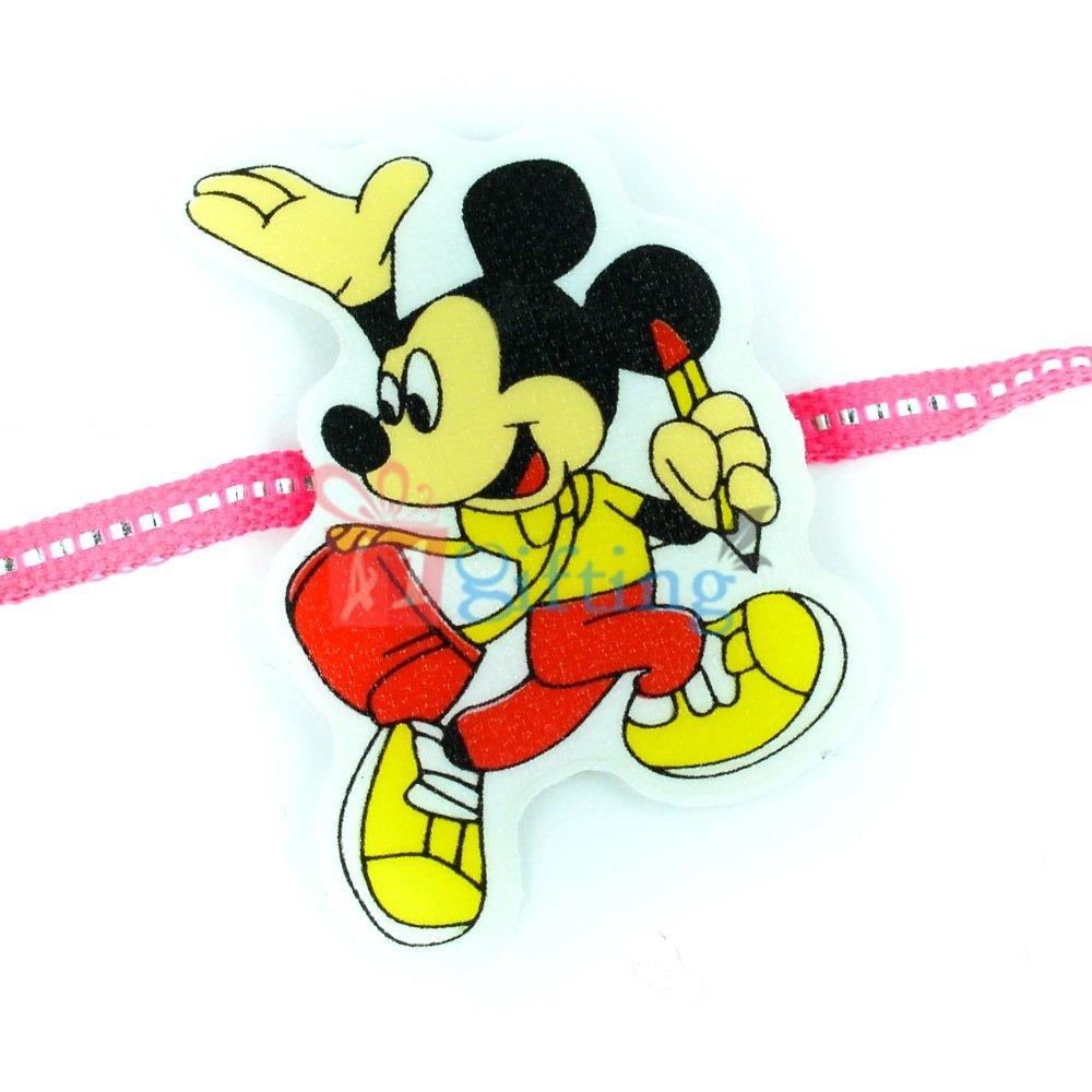 Mickey Mouse Cartoon Rakhi for Children