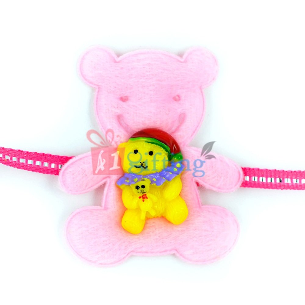 Soft Toy with Toys Beautiful Kids Rakhi for Children