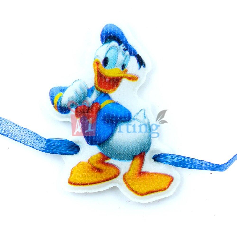 Donald Duck Wearable Rakhi for Kids