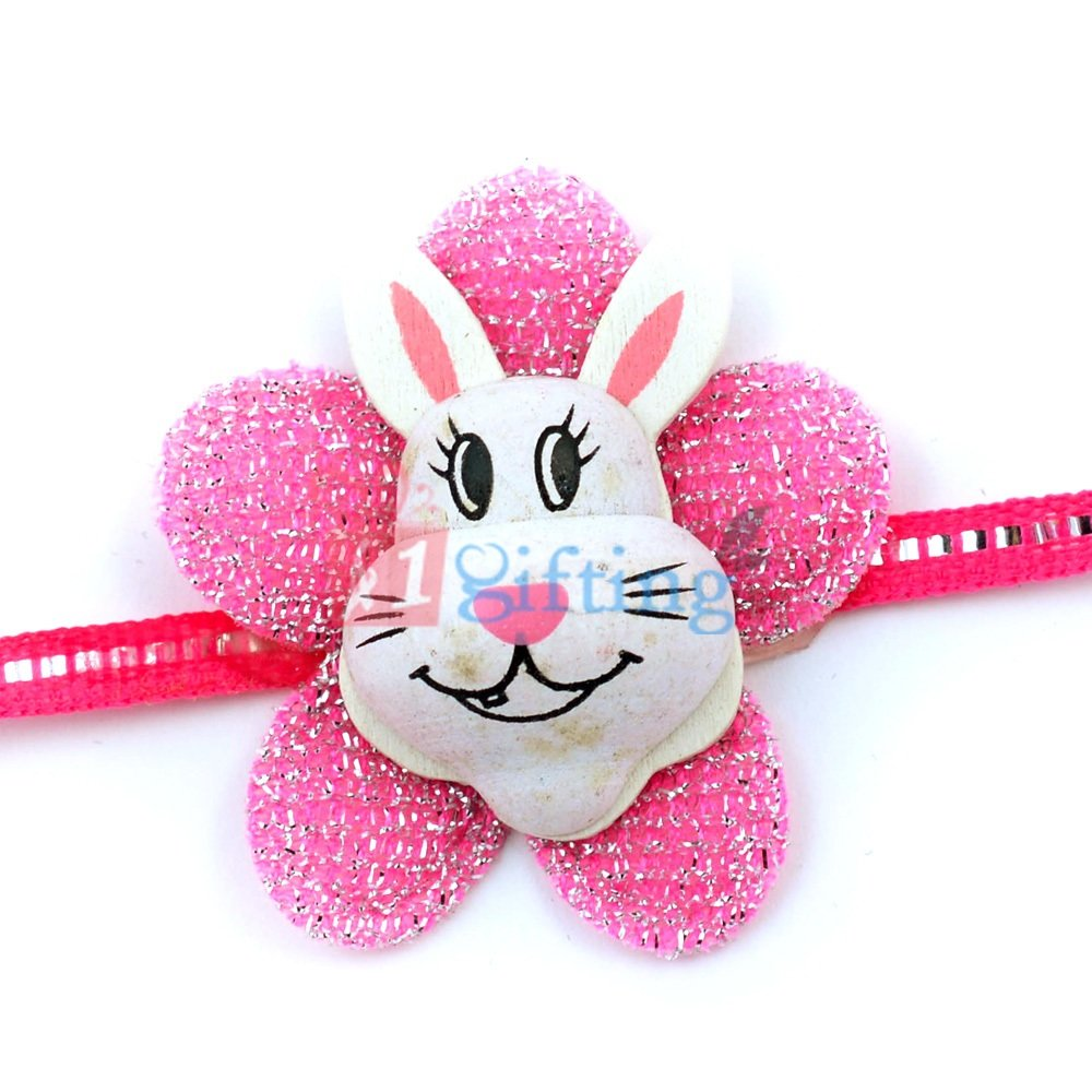 Fiber Donkey Cartoon Children Rakhi
