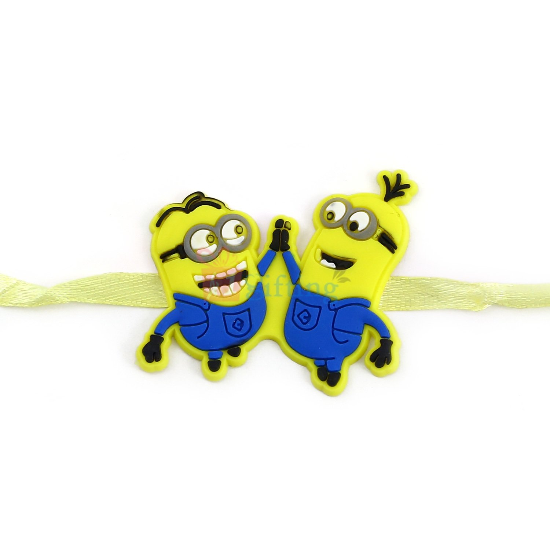 Twin Minions Rakhi for Kids