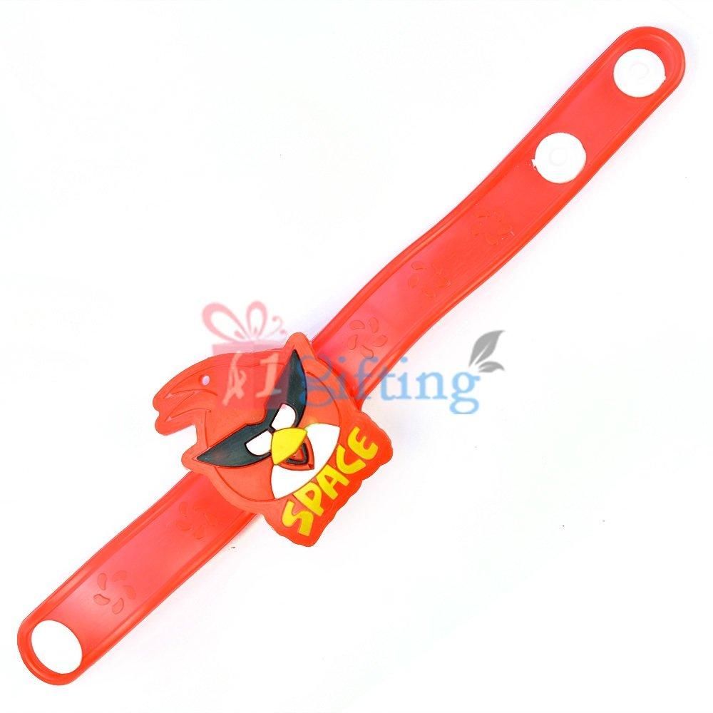 Angry Birds Plastic Band Rakhi for Kids