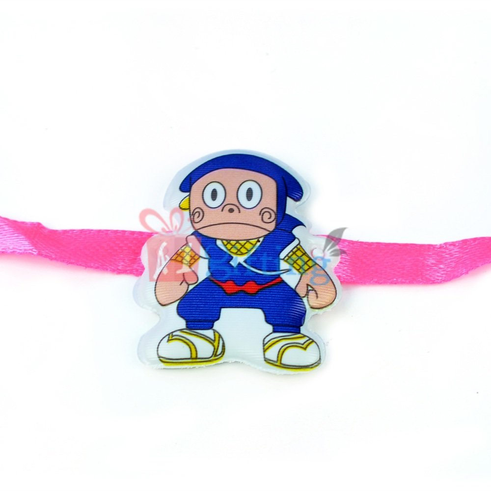 Ninza Cartoon Toy Rakhi for Kids
